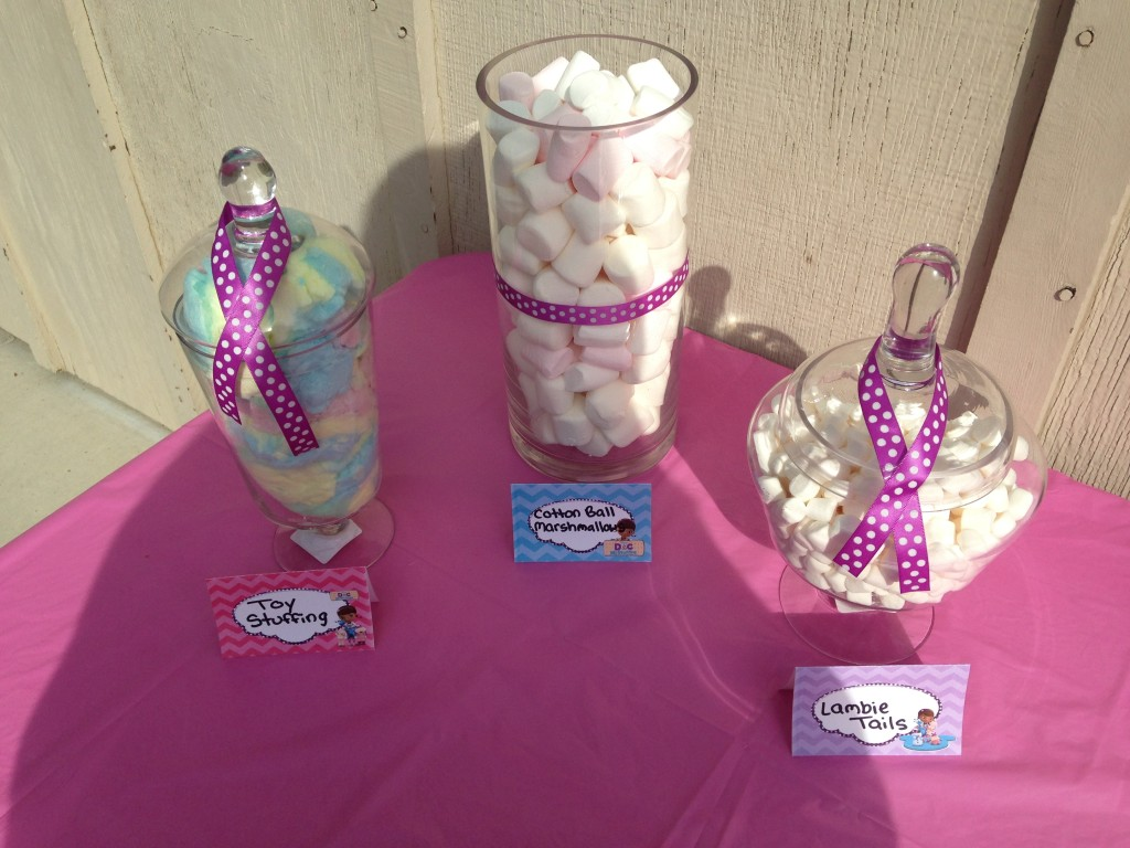 Doc McStuffins Party: Dessert Table