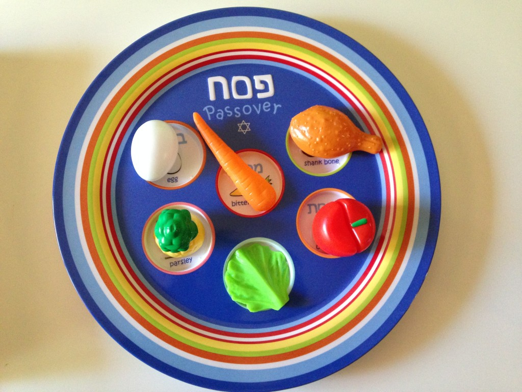Passover: Kid's Seder Plate