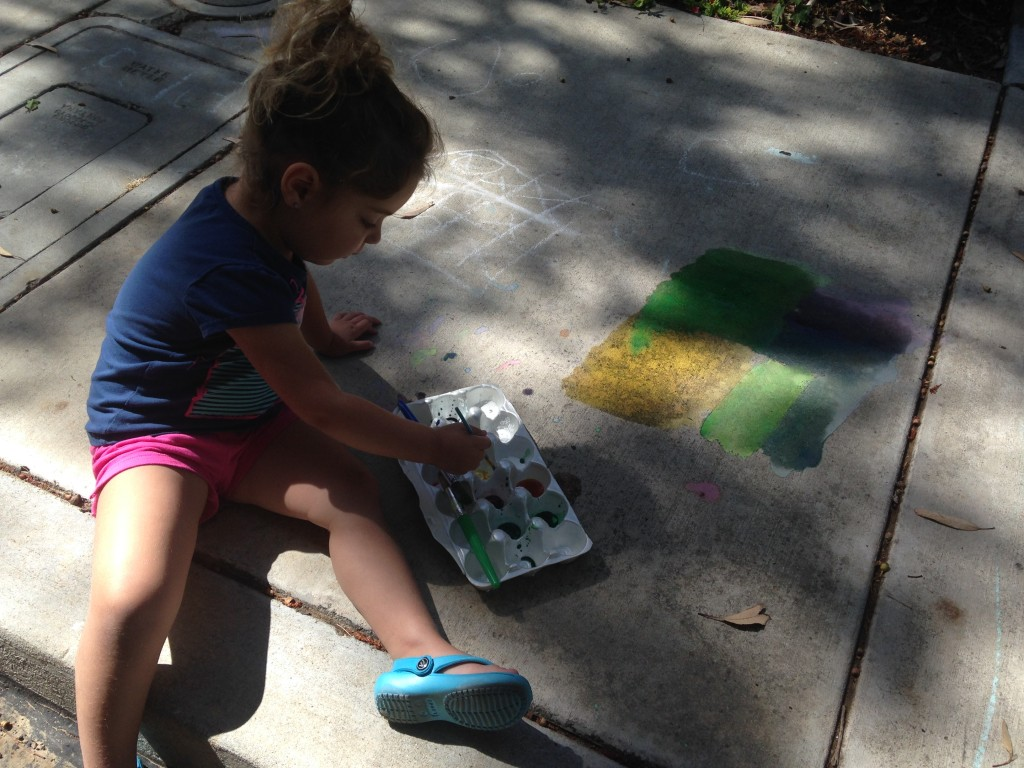 Mama Chit Chat: Sidewalk Chalk