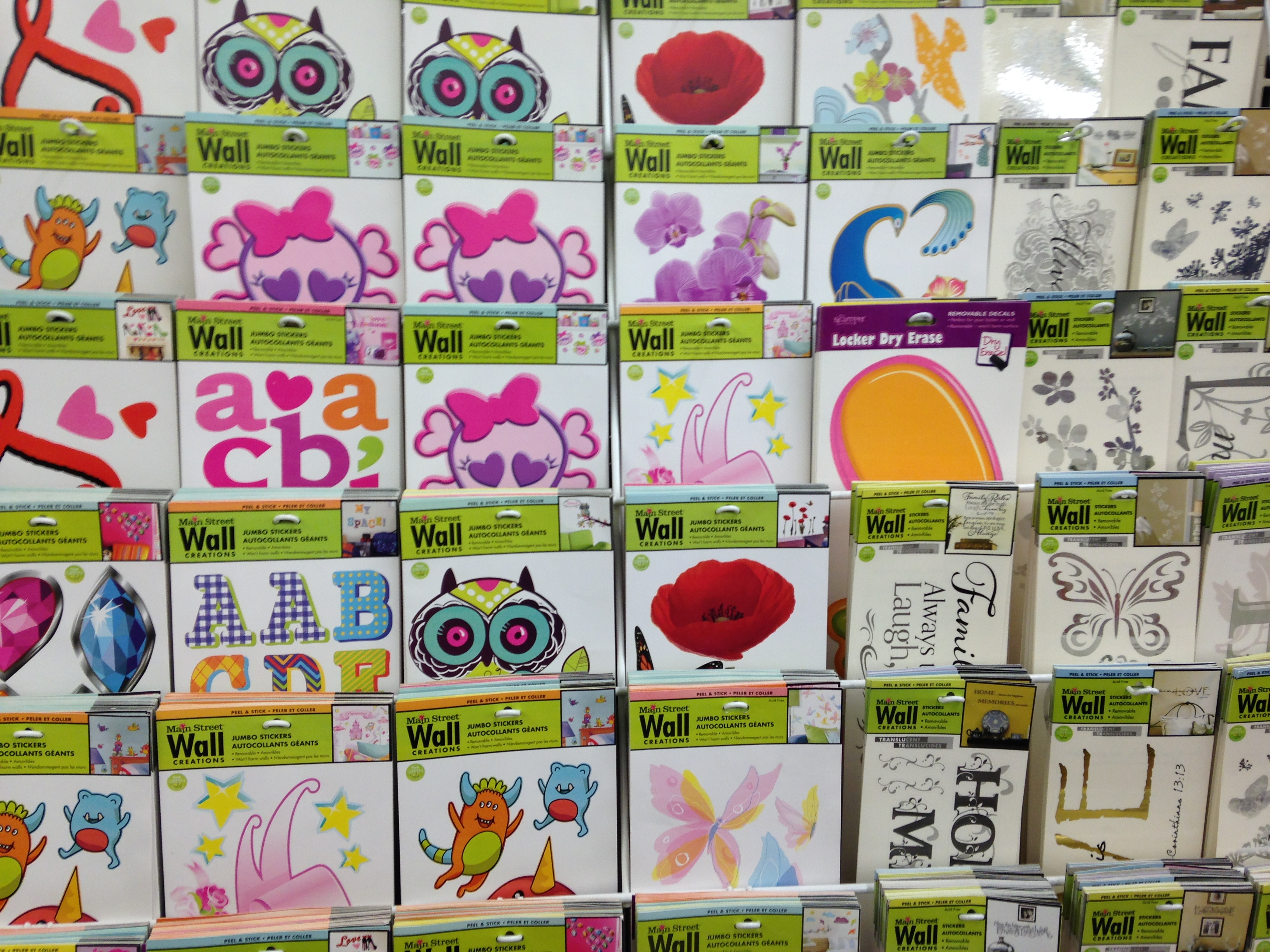 Dollar tree craft 2 mama chit chat for Inspiring dollar tree wall decals